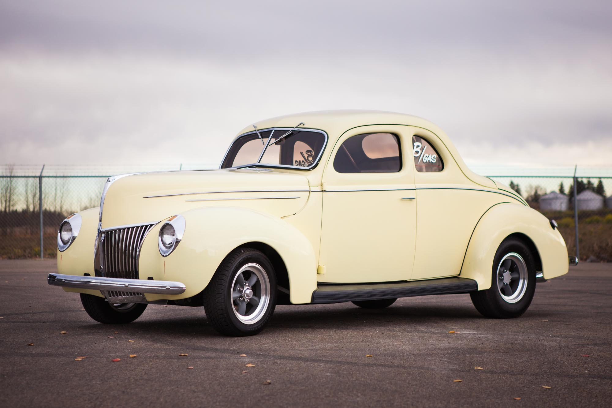 1939 Ford Custom Coupe - For Sale - The Iron Garage