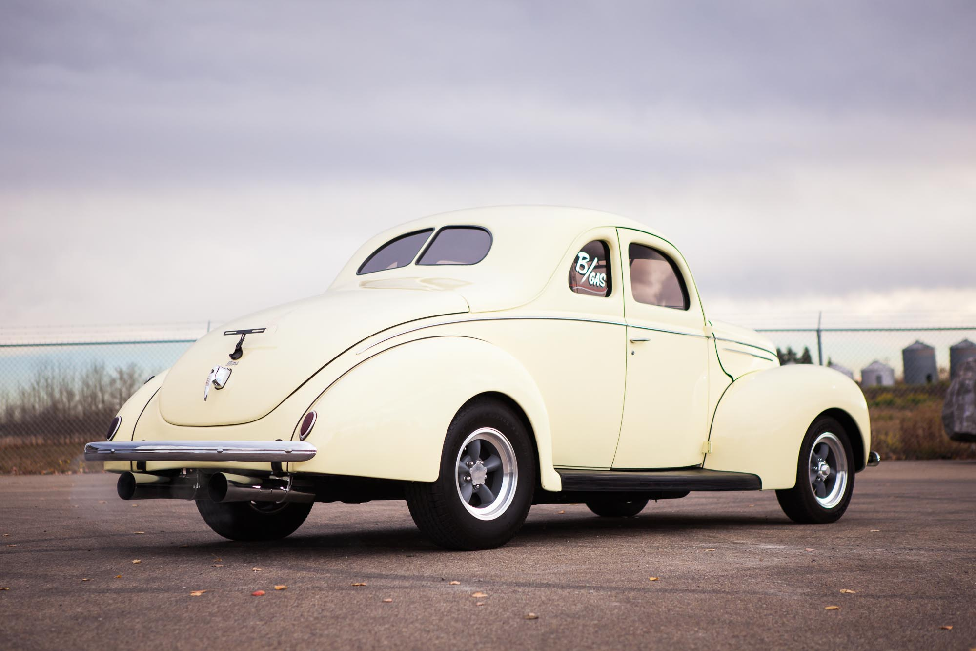 Ford Mustang Ii >> 1939 Ford Custom Coupe - For Sale - The Iron Garage