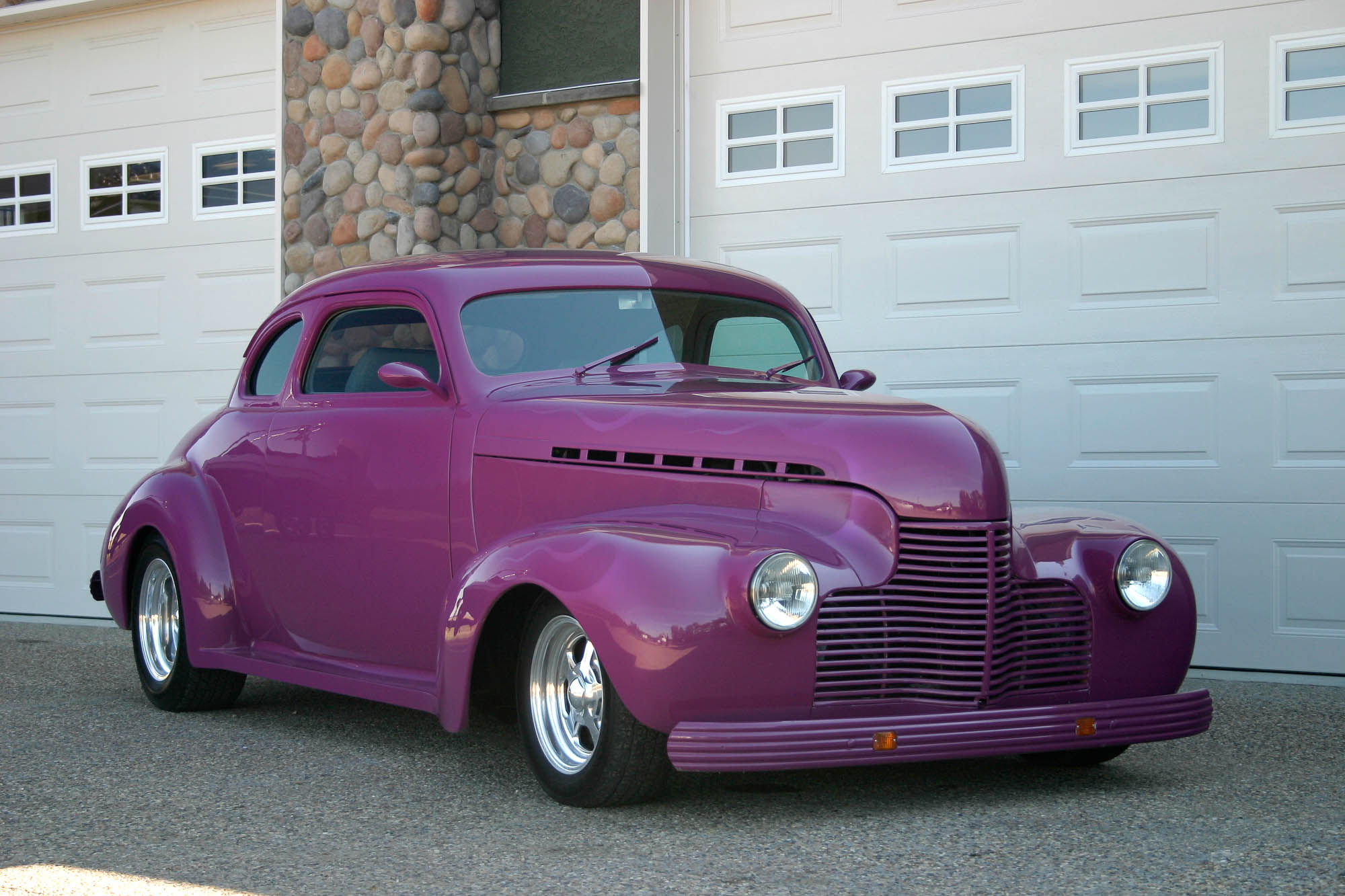 1940 Chevy Coupe Sold The Iron Garage
