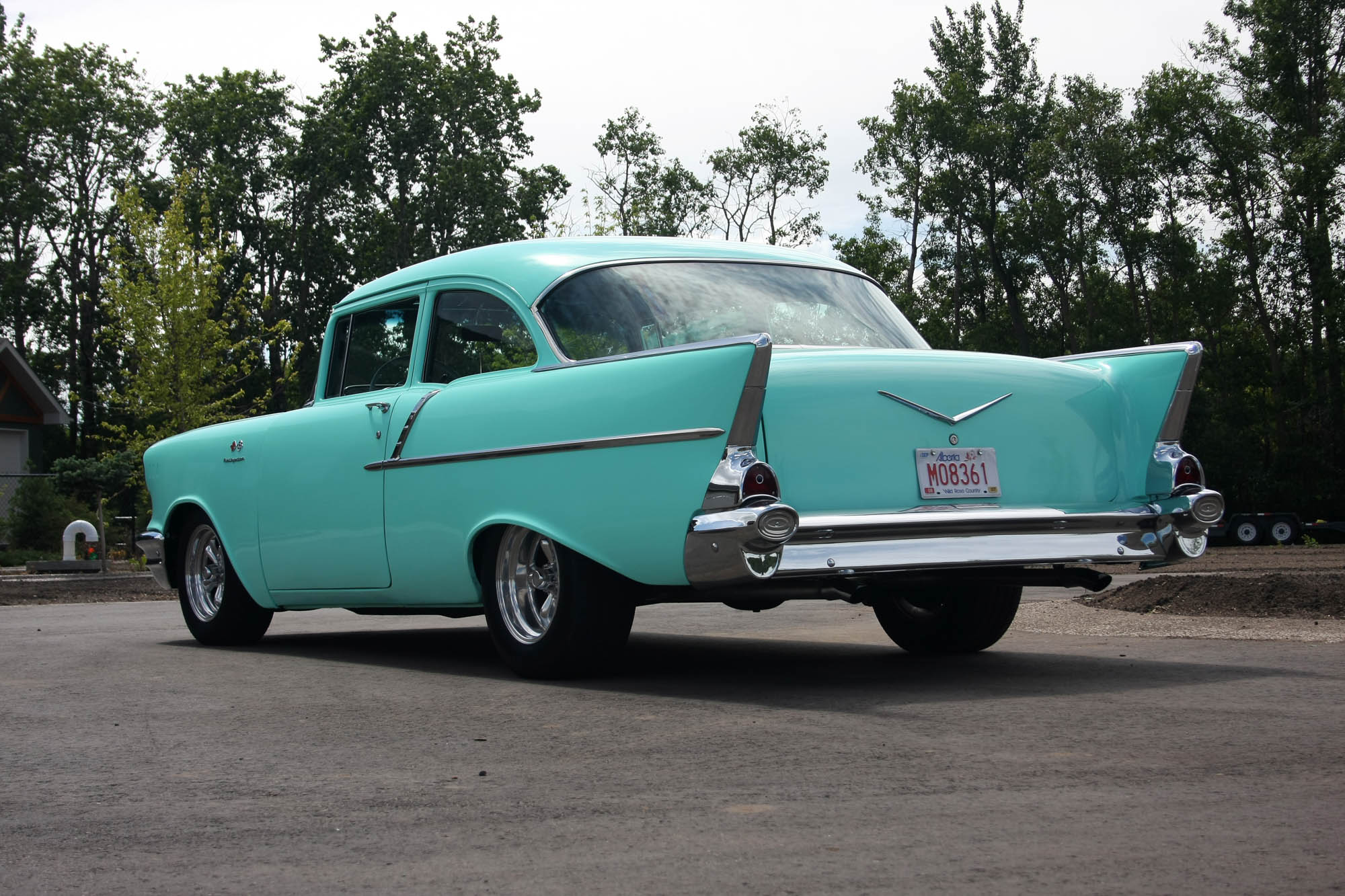 1957 Chevy Coupe - Sold - The Iron Garage