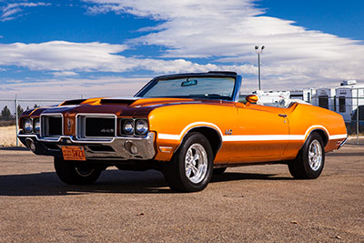 1971 Olds Cutlass Convertible 442 Tribute